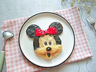 铿锵玫瑰甜甜妈妈的可爱的米妮老鼠土豆泥