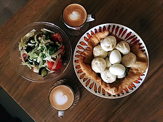这个中西文化碰撞的早餐怎么样?