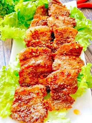 辣妈周的教你一招,在家平底锅就能做烤肉⭕秒杀一切烧烤🍻五花肉贼好吃!!