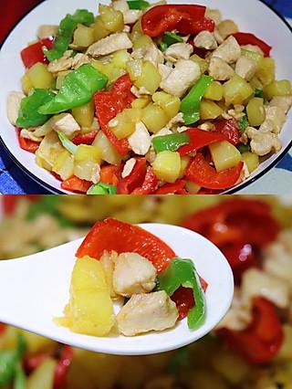 君子恩的🔥超级下饭的土豆鸡胸肉,低脂又美味