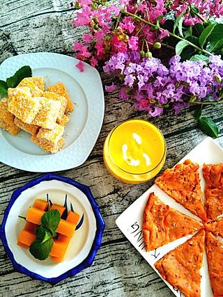 天吻蓝了海海的南 瓜 盛 宴 我的幸福就是每天做自己喜欢的早餐