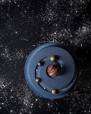 Jeff Mars的🌌星空蓝莓巧克力蛋糕