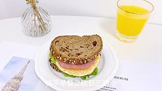 微微wang的早餐Vlog | 欧包三明治#每天都要吃早餐#