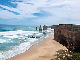霖的吃货铺的南太平洋的海水和蓝天,一生一定要去一次的地方👍