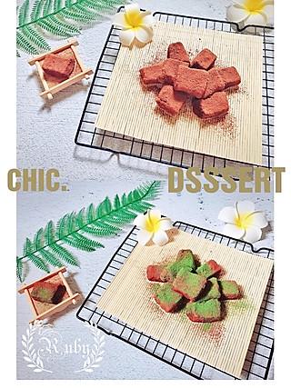 蓝胖纸叮当的谁说豆腐只能做菜凉拌?伪装成生巧的豆腐奶方让你骗过所有人哟