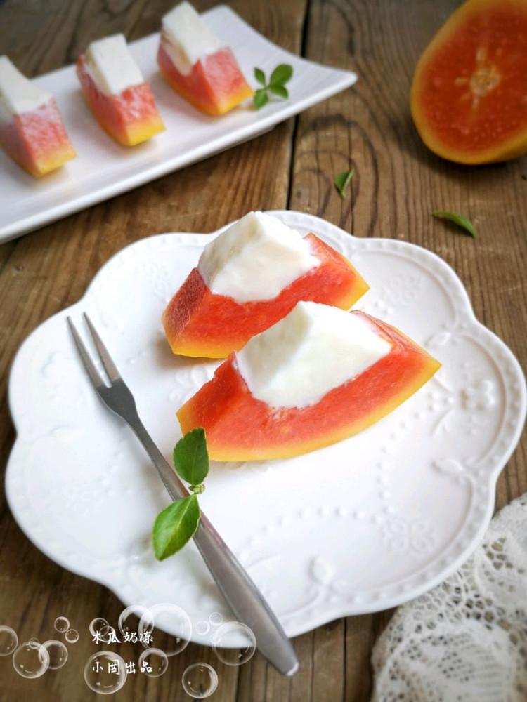 木瓜奶冻图9