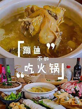 标爷吃光上海的🍲海鲜+火锅,今天也是养生的一天🉑