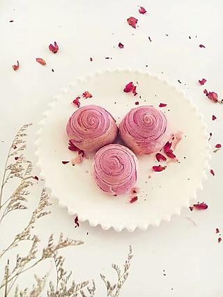 lingling玲食-亲子烘焙组的好吃可爱的紫薯酥