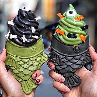 亽食cheecee的颜值高、超人气的鲷鱼烧冰淇淋🍦不要错过啦!