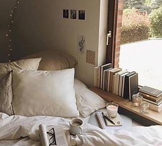 泡芙爱吃粉丝包的窗边的精致文艺生活,舒适又惬意