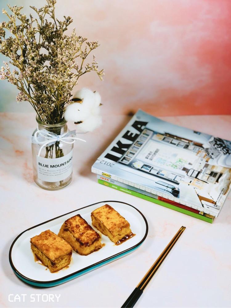 🍽精美合适的食器,连一块简单的煎豆腐都能变得很美味图2