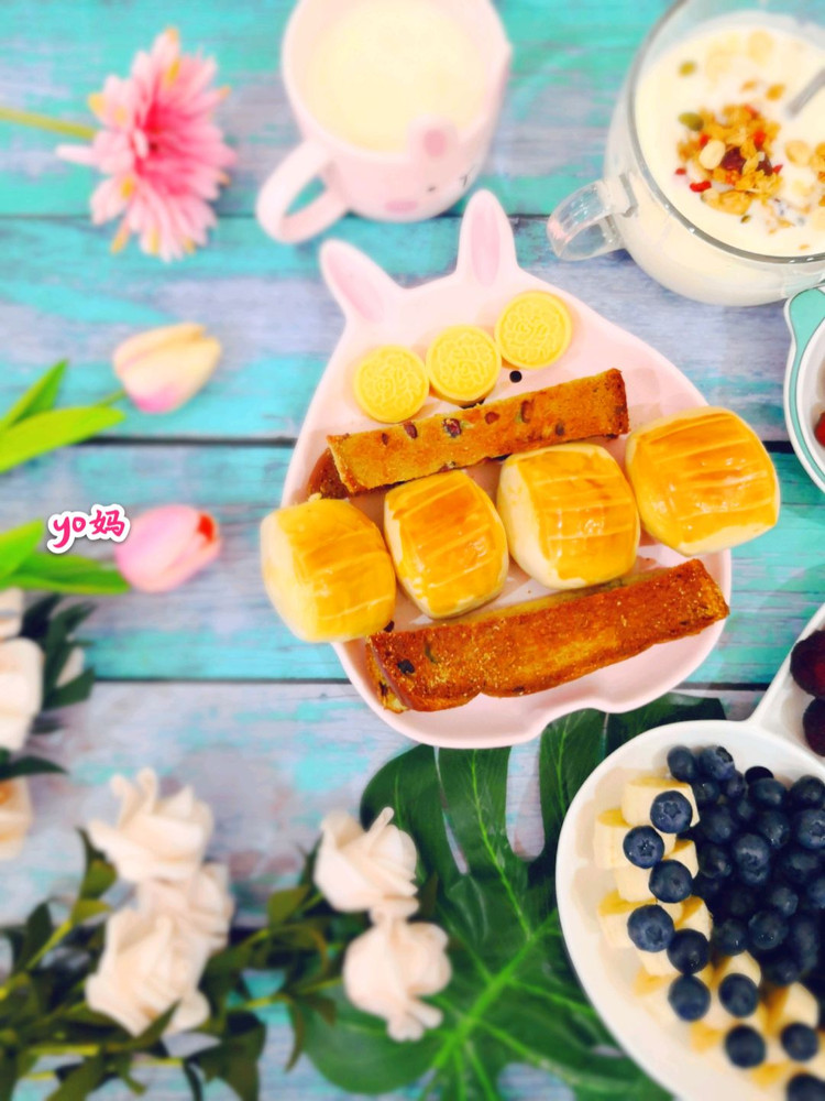 来个造型餐盘合集,整个早餐都变得可爱了(๑• . •๑)!图2