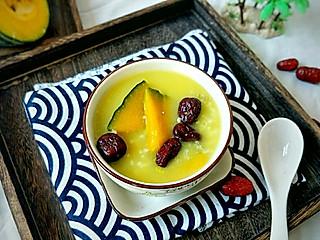 糖小田yuan的美容养颜南瓜红枣黑小米粥,有没有小伙伴儿想喝一碗呀?