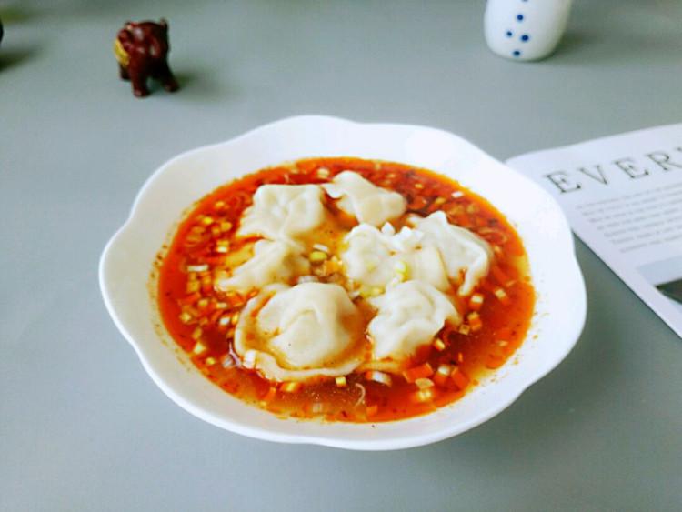 一吃就上瘾的酸汤水饺,吃完爽歪歪图1