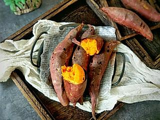糖小田yuan的终于找到了,又香又甜的烤红薯做法!