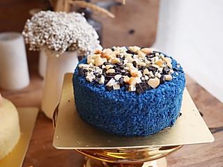 解馋的美食家的碟豆花坚果蛋糕