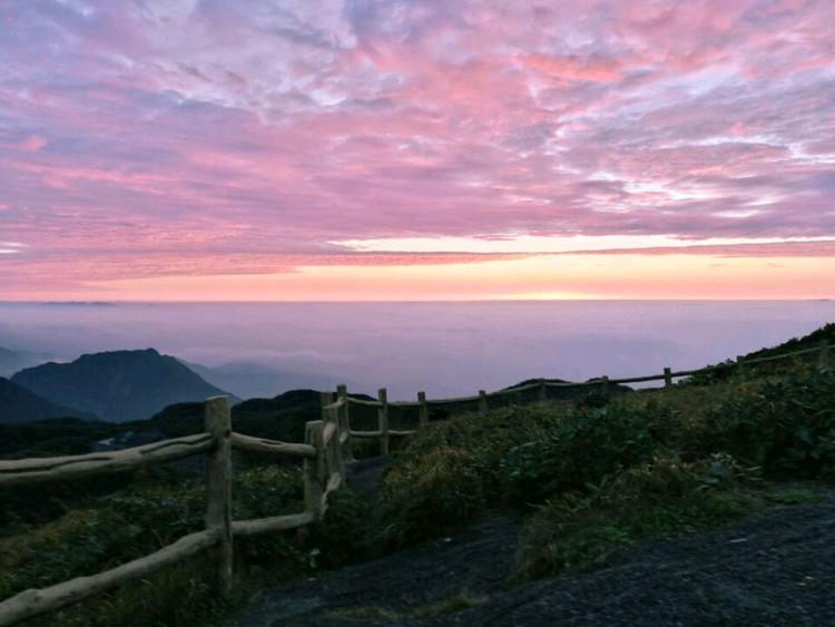 华南第一峰,有木有大片的感觉😄,4点起床看日出,美丽冻人图6