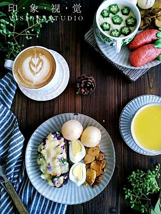 快乐家族宝妈刘华的二人食早餐,我的周末食光