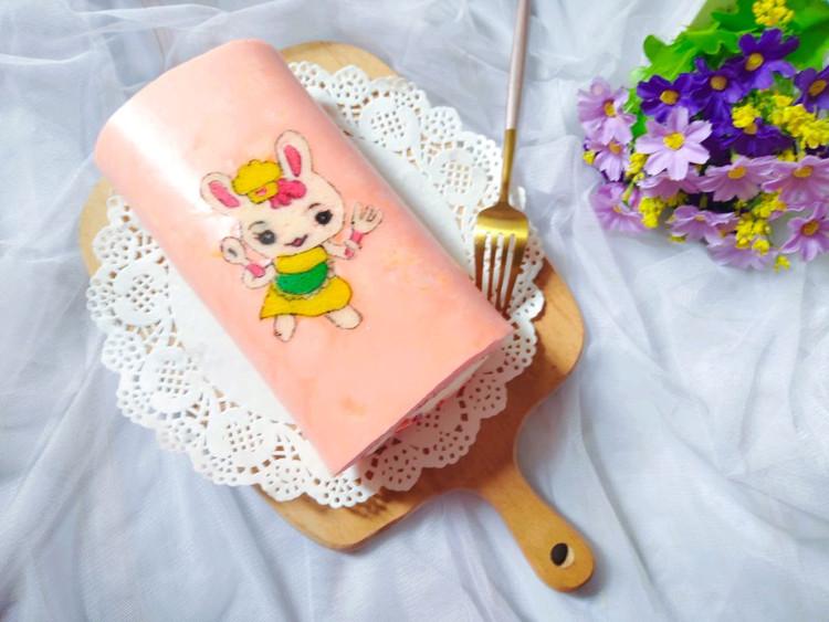 彩绘卡通小兔子蛋糕卷图9