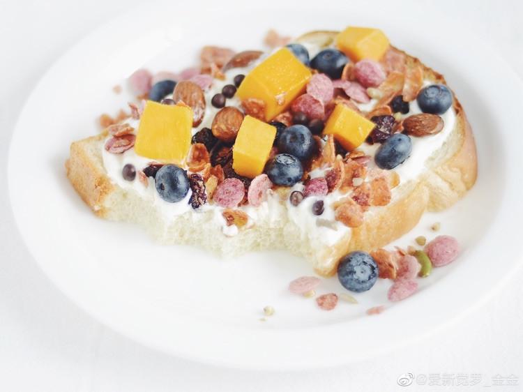 关于淡奶油土司的早餐图3