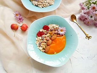 清露风荷的麦片南瓜糊,给早餐一个高颜值