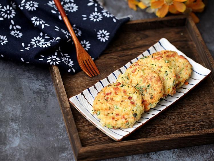 杂蔬大米饼图1