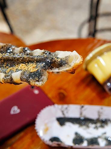 烤麻薯拉的丝,绝对比芝士还诱人‼️口感更是比糯米还糯~是幸福的味道~图6
