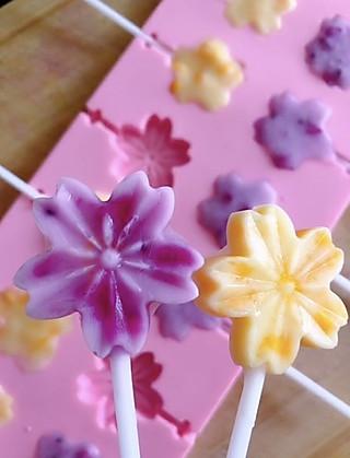 樱花雨~的哄娃神器 水果酸奶雪糕