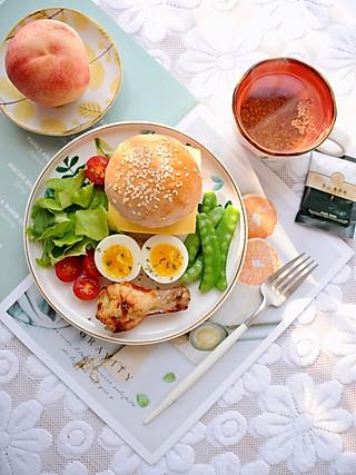 椛吃的一个周末的早上 一顿心仪的早餐 一份美好的心情 早安