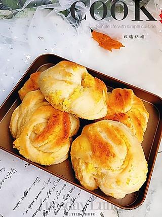 Idun我爱玫瑰的柔软美味的酸奶面包