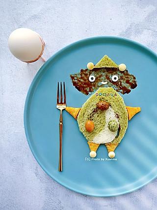 轩麻趣食的轩麻趣食:一枚呆萌小怪兽