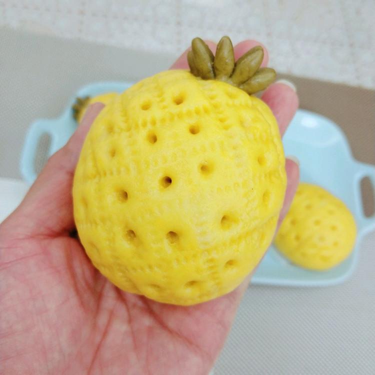菠萝豆沙包图4