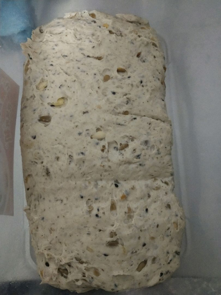 一个能颠覆你味蕾的粗糙大汉面包~杂粮乡村图5