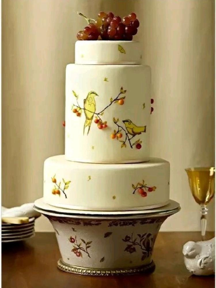 一组中国风蛋糕,美的大气精致~图3