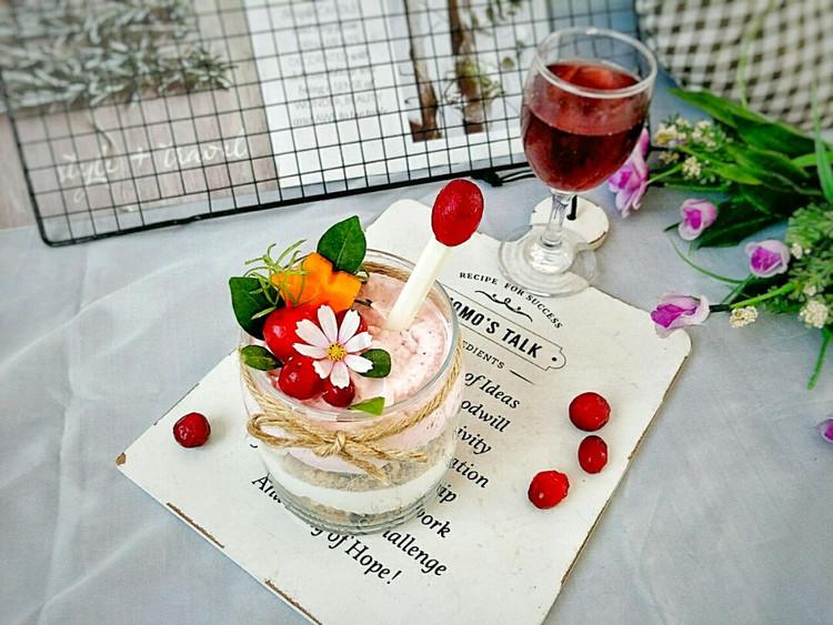 酸香开胃的蔓越莓坚果奶油杯,营养美味,只需10分钟就可做好~图2