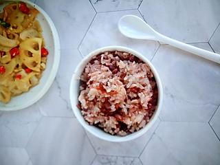 清雅小厨的㊙️香甜软糯的红豆糯米饭😋连吃三碗都不够‼️