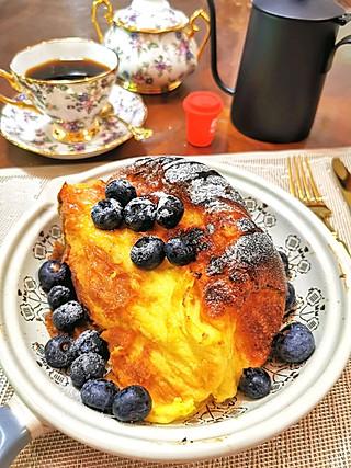 沁沁com的【早餐】隔夜老面包