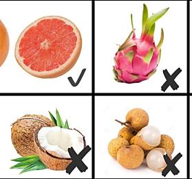 小橘橘的教你挑对低卡水果,吃对才会瘦!