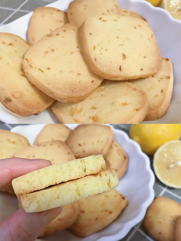 曲奇这样做,小心不够吃‼️吃一口就会上瘾㊙️柠檬曲奇饼干图2