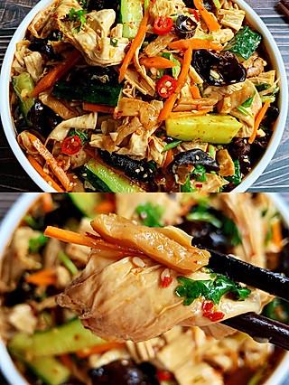 🔥十分钟快手开胃菜❗️酸辣爽口巨开胃的凉拌菜,无敌好吃😋