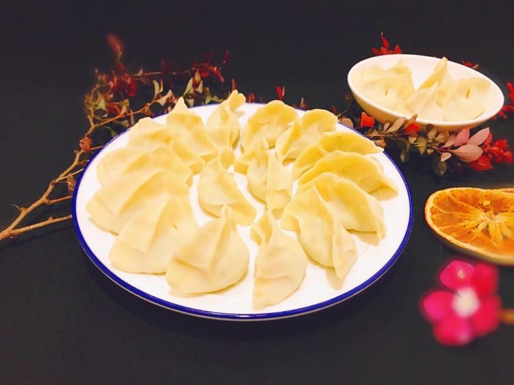 """时令萝卜缨素馅蒸饺,蒸的好吃味鲜美!#""""蒸""""功夫美食大赛#图2"""
