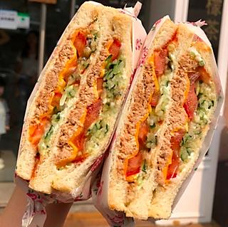 曦曦^O^的🌟最好吃的三明治‼️会爆汁,用料超大方🔥🔥