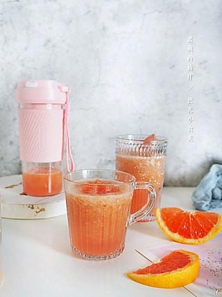 然儿小食光的蜜桃西柚汁一杯能帮你减重的果汁