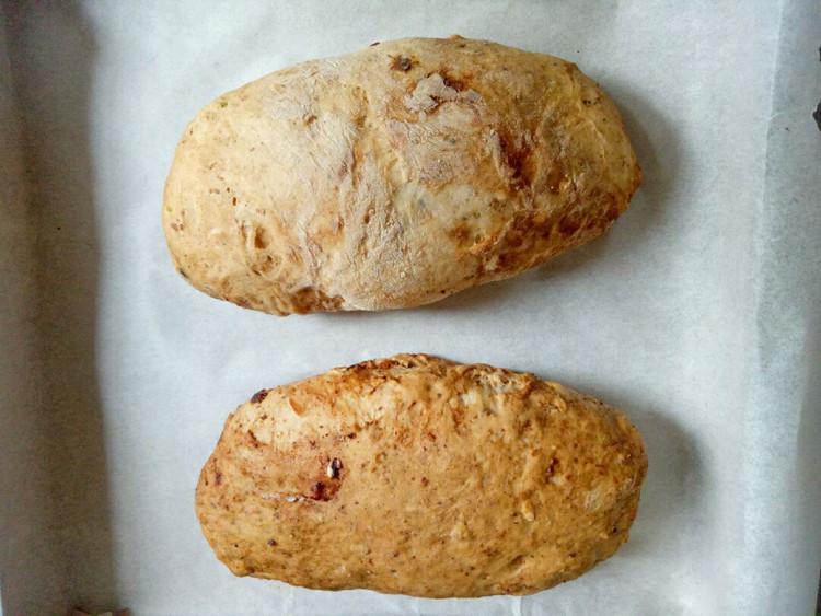 健康养生的黑蒜面包图7