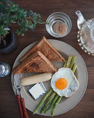 哈哈hy哈哈的吐司太阳蛋早餐首选!