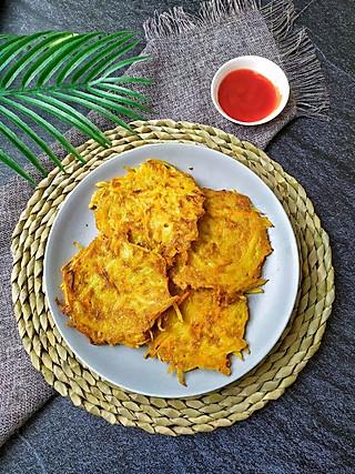 尔東美食记的外焦里嫩的土豆饼