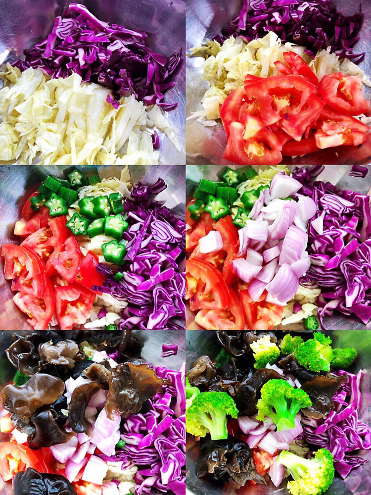 自制蔬菜沙拉图2