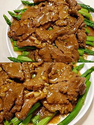 糖果子的小食光的嫩爽牛肉片,牛肉这样做好吃又嫩爽