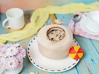 你的笑好甜的好不容易敲开的椰子壳别浪费,🌴做个东南亚风情汤吧