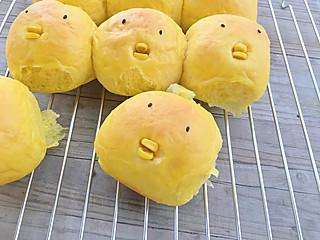 丁当老娘的吃可爱多长大的萌鸡小队面包